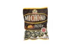 Caramelos tiernos cubierto de chocolate negro Michoko
